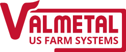 VALMETAL - US FARM SYSTEMS LOGO